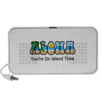 YOURE ON ISLAND TIME SPEAKERS