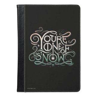 You're One Of Us Now Colorful Graphic iPad Air Case