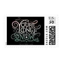 You're One Of Us Now Colorful Graphic Postage