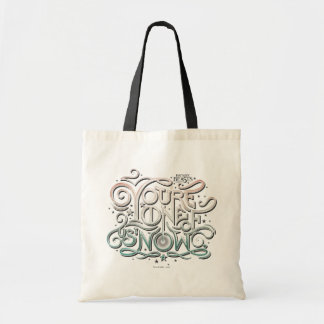 You're One Of Us Now Colorful Graphic Tote Bag