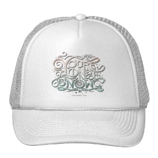You're One Of Us Now Colorful Graphic Trucker Hat