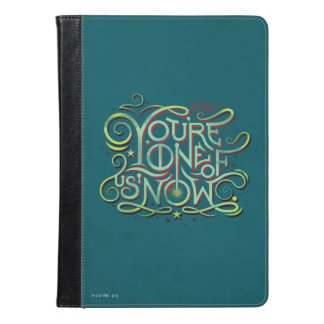 You're One Of Us Now Green Graphic iPad Air Case