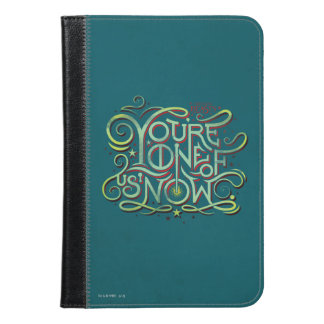 You're One Of Us Now Green Graphic iPad Mini Case
