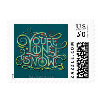 You're One Of Us Now Green Graphic Postage