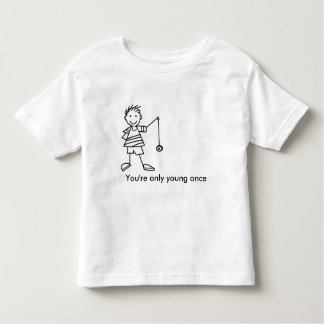 You're only young once #YOYO T-shirt