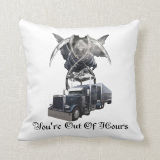 You're Out of Hours Pillow