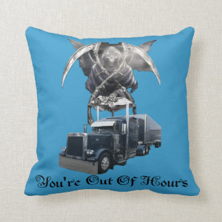You're Out of Hours Throw Pillow