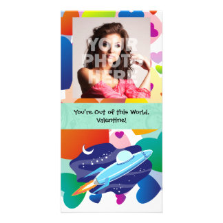 You're Out of this World Valentine Photo Card