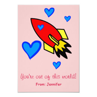 You're out of this world Valentine's Day Card