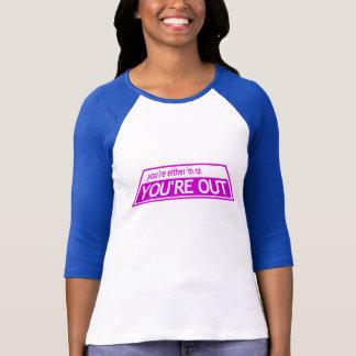 YOU'RE OUT - Project Runway Tim Gunn Heidi Klum T-Shirt