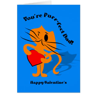 You're Perfect Dad Valentine's Day Card