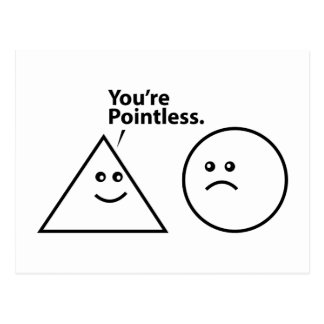 You're Pointless Postcard