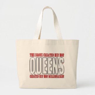 You're Probably From Jamaica, Queens if... Large Tote Bag