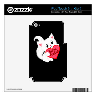 You're Purrfect kitty iPod Touch 4G Decals
