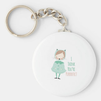 Youre Purrrfect Key Chain