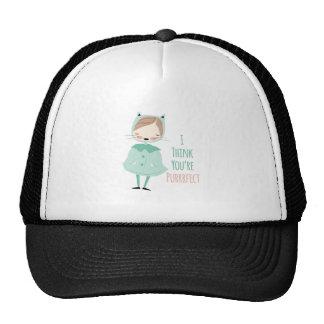 Youre Purrrfect Trucker Hat