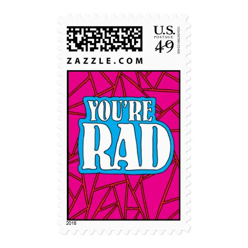 You're Rad Stamp