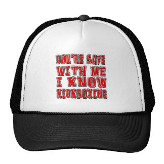 You're safe with me i know KICKBOXING. Mesh Hats