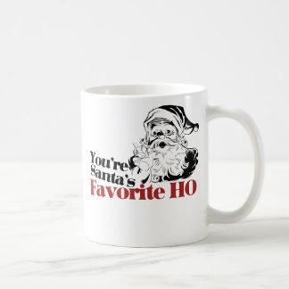 You're Santa Favorite HO Classic White Coffee Mug