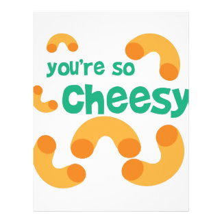 Youre So Cheesy Letterhead