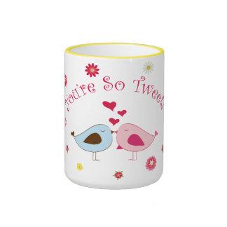You're so Tweet Cute Love Birds Mug