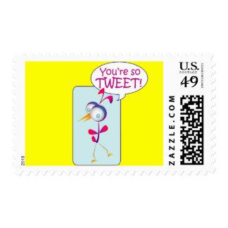 You're So Tweet Stamps