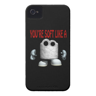 Youre Soft Like A Marshmallow iPhone 4 Case