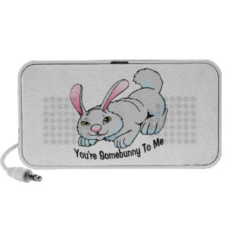 You're Somebunny To Me Notebook Speakers