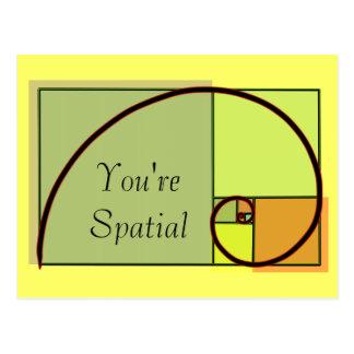 You're Spatial Postcard
