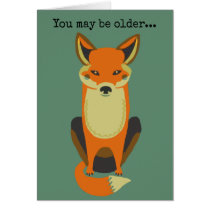 You're Still a Fox