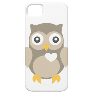 You're Such a Hoot in Brown iPhone SE/5/5s Case