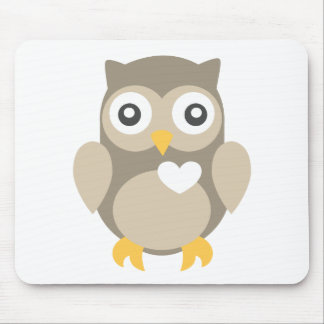 You're Such a Hoot in Brown Mouse Pad