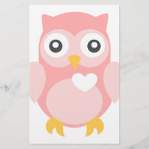 You're Such a Hoot in Pink