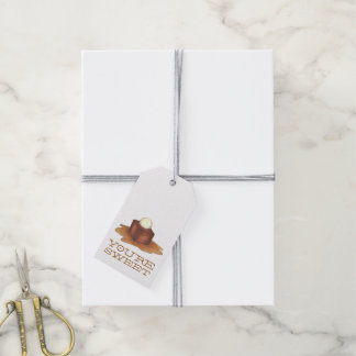 You're Sweet British Sticky Toffee Pudding Tags