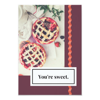 You're Sweet Love Invite