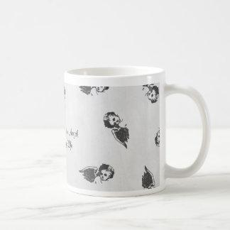 """You're the Angel of my Life"" designed mug"