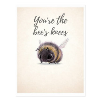 You're the Bee's Knees Postcard