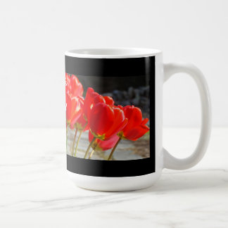You're the Best Boss Lady! Coffee Mugs Red Tulips