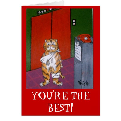 YOU'RE THE BEST! CARDS
