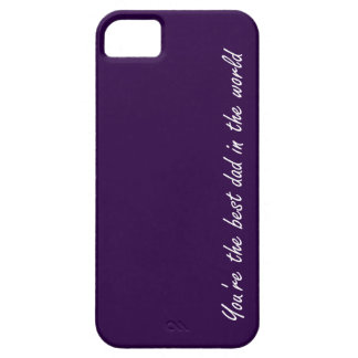 You're The Best Dad In The World - Violet - iPhone SE/5/5s Case