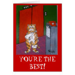 YOU'RE THE BEST! GREETING CARD
