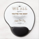 You're the best, Happy Boss's Day Gel Mouse Mat