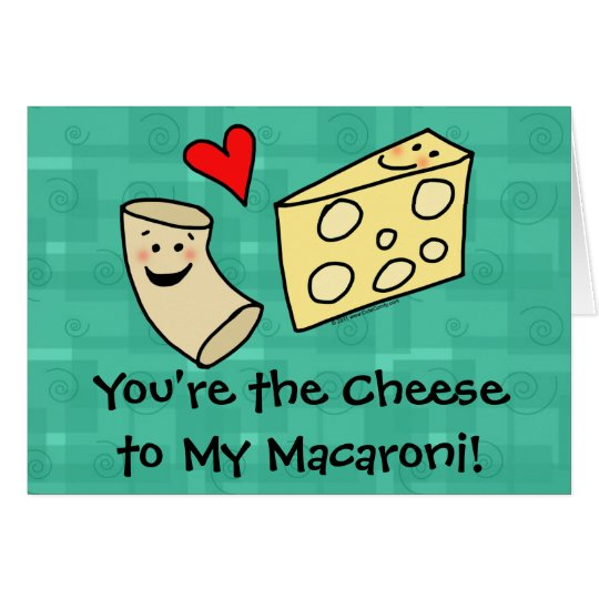 Cheese Valentines Card