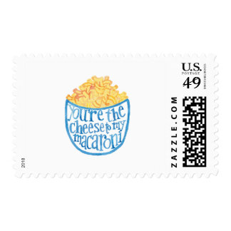 You're the cheese to my macaroni postage