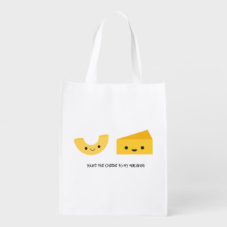 You're the Cheese to my Macaroni Reusable Bag Market Tote