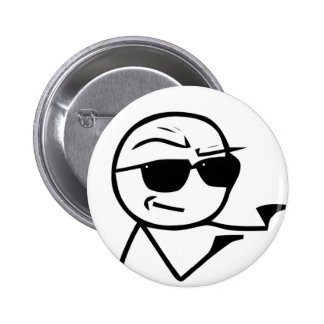 You're The Man Comic Face 2 Inch Round Button