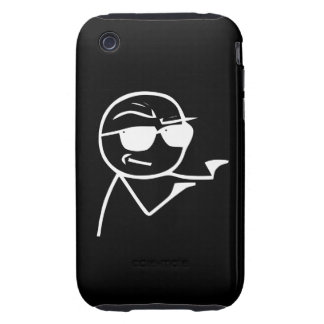 You're The Man - iPhone 3G/3GS Black Case Tough iPhone 3 Cases