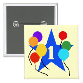 You're the Star 1st Birthday Tshirts and Gifts Pinback Button