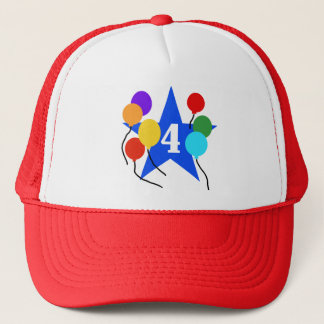 You're the Star 4th Birthday Tshirts and Gifts Trucker Hat
