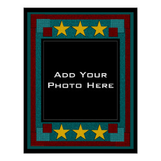 You're The Star Photo Template Poster